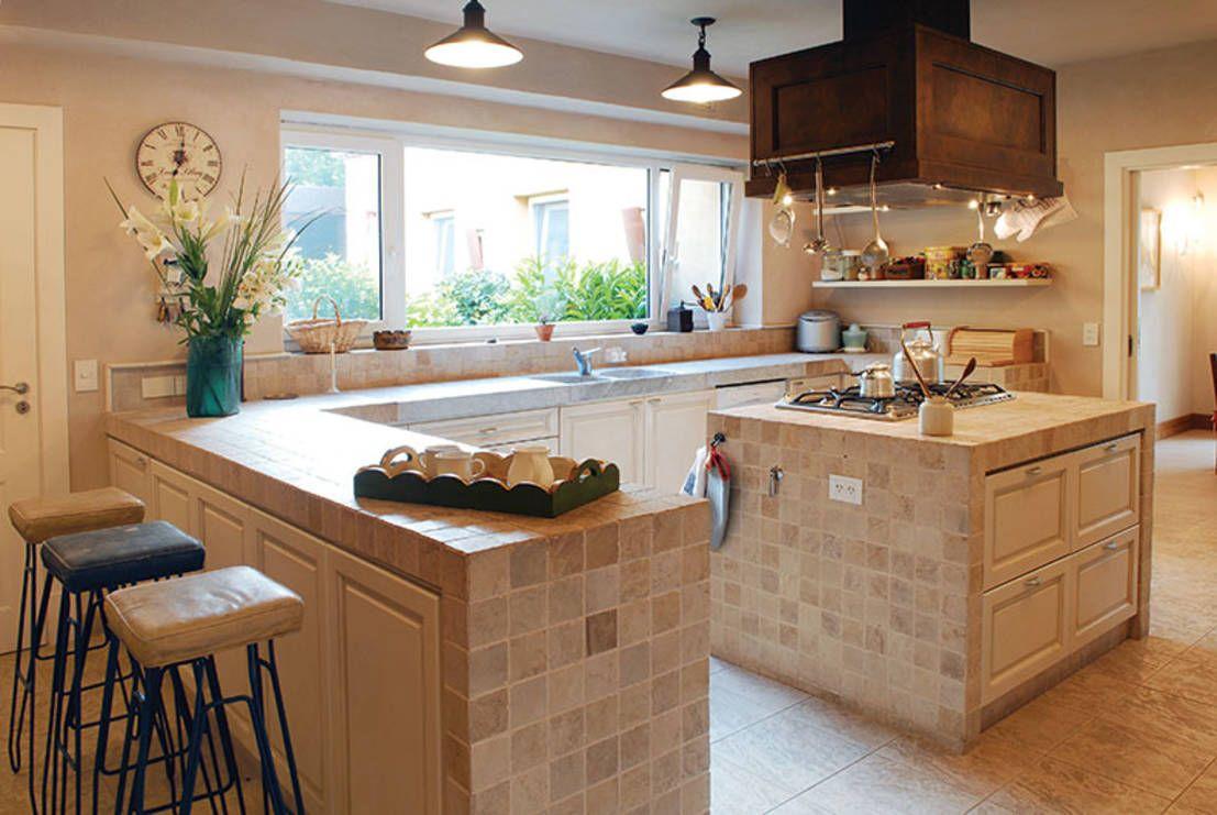 imagenes cocinas en mamposteria moderna - Buscar con Google | Cocina ...
