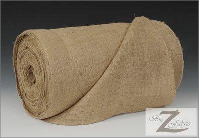 Natural Burlap Fabric Roll  100 YARDS  40 Width by BigZFabric, $115.00