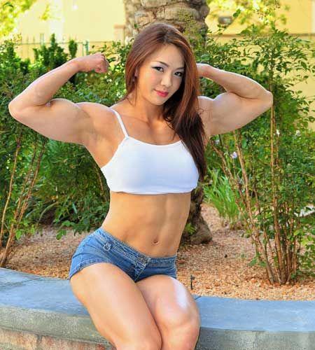 asian muscle girl nude