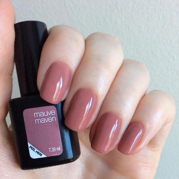 Opi Nail Polish Mauve Color: Mauve Maven SensatioNail Mani. Still Flawless After 5 Days