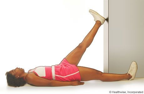 Hamstring Stretch In Doorway Anatomy And Movement Back Pain Exercises Lower Back Pain Exercises Sore Muscles