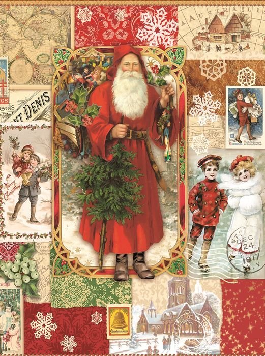 Victorian Christmas (1000 Piece Puzzle by SunsOut) in 2018 puzzles