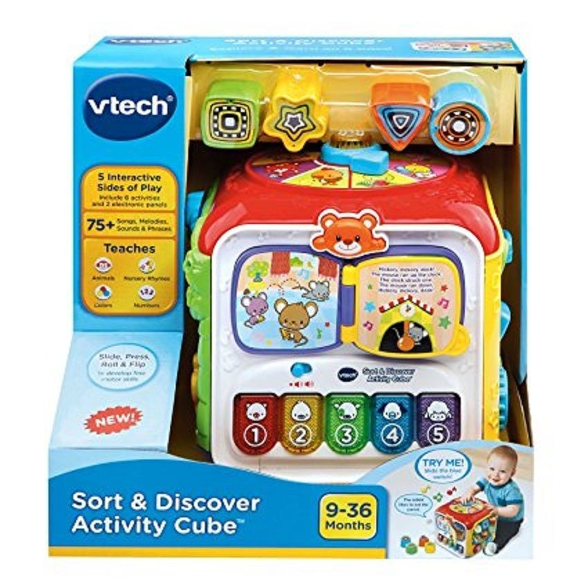 Kids Activity Learning Cube Baby Table Play Toy ...