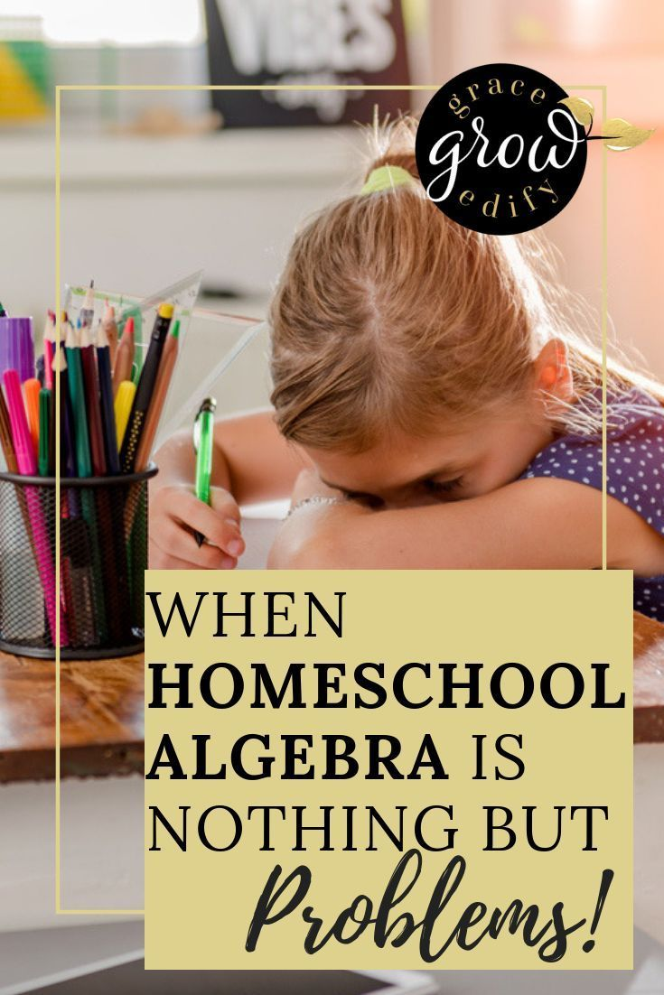 When Homeschool Algebra Is Just a Problem - Solved with Mr D Math -