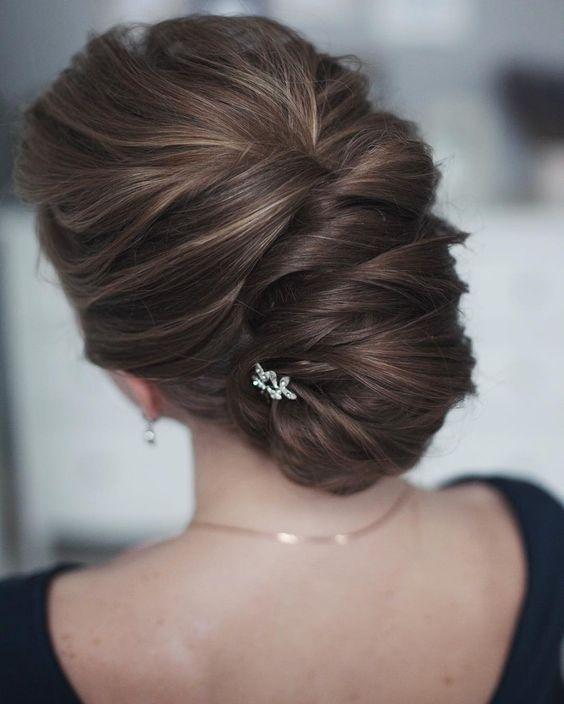 30 Penteados Com Coques Perfeitos Para Casamento Hair