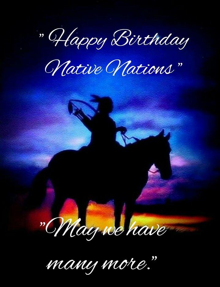 Native Pride Nativity Happy Birthday Wishes Native