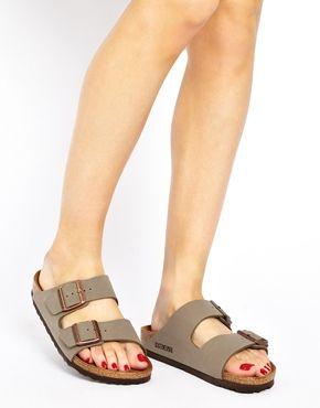607e7953d Image 3 of Birkenstock Arizona Stone Two Strap Sandals