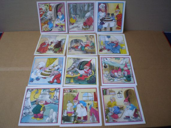 lot of 12 Nans van Leeuwen gnome and mouse by simplyproducts, $2.50