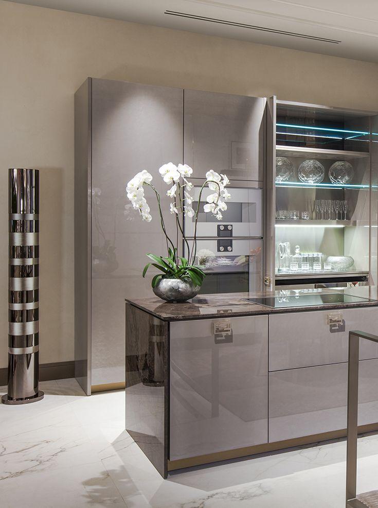 Sneak Peak From Our New Los Angeles Showroom Fendi Casa Ambiente Cucina Smooth Elegant Tones
