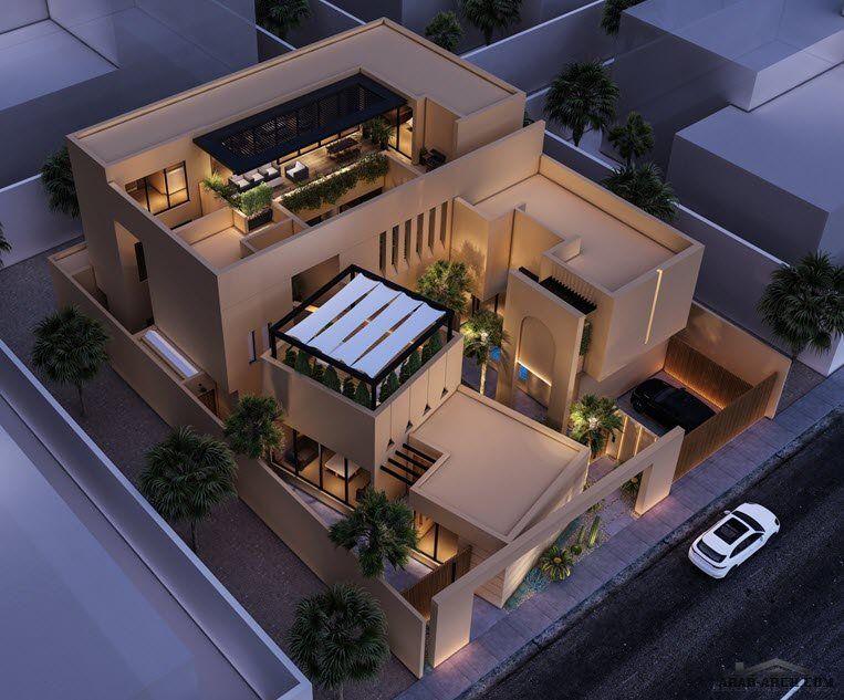 Arab Arch صفحة 83 In 2021 House Styles Mansions Design