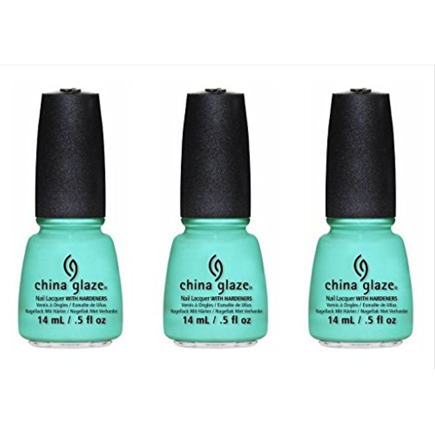 3 Pack) CHINA GLAZE Nail Lacquer - Sunsational - Too Yacht to Handle ...