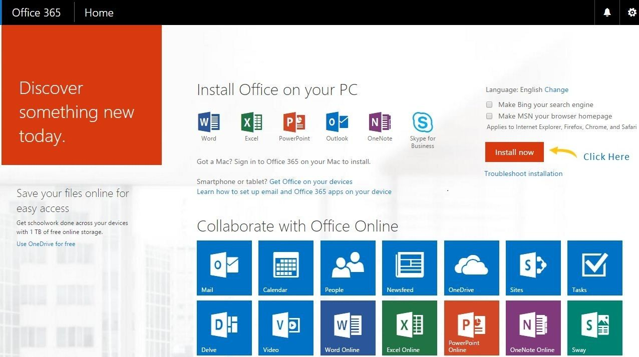 How To Download Install And Setup Office On Your Computer Microsoft Office Faux Painting Techniques Office Setup Microsoft 365 online sign in
