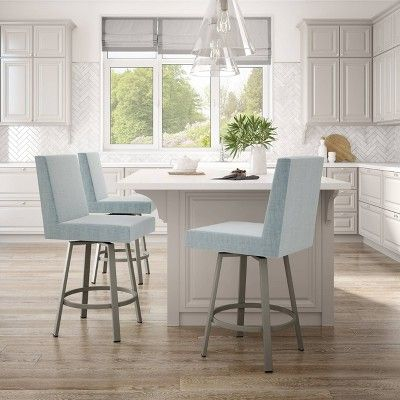 Fabulous 26 Hartman Counter Stool Light Blue Light Gray Amisco In Gmtry Best Dining Table And Chair Ideas Images Gmtryco