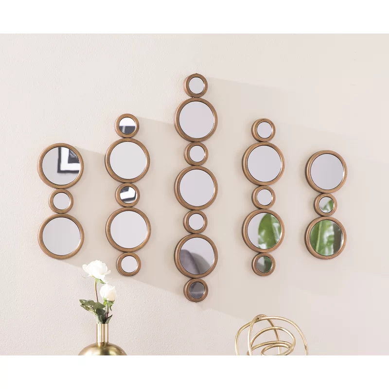 5 Piece Mccrory Contemporary Mirror Set | Contemporary ...