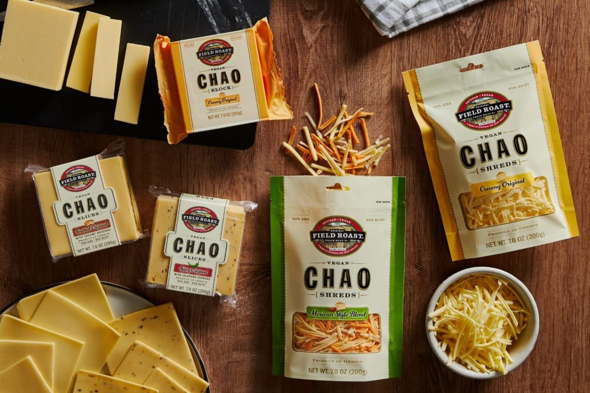 Field Roast To Launch 5 New Plant Based Cheeses Unlike Anything That Exists In 2020 Plant Based Cheese Field Roast Dairy Free Cheese