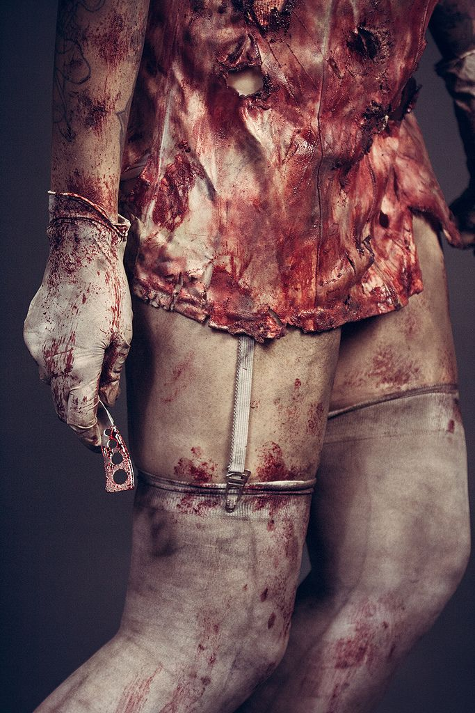 Cute  silent hill nurse xxx but