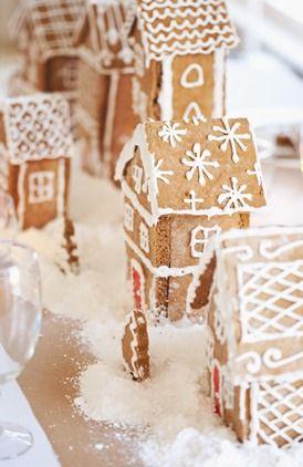 DIY: Gingerbread Centerpiece!