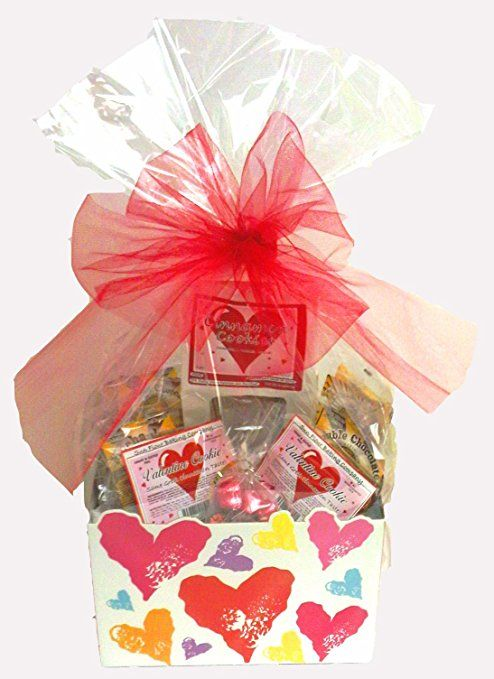 Gluten free gift baskets gifts for every occasion gluten free click here to buy valentines day gift basket gluten free vegan large negle