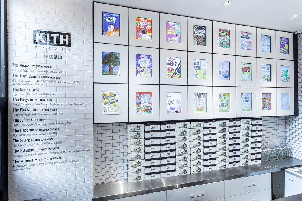 Kith NYC Revamps Brooklyn Store & Features Cereal Bar | New York
