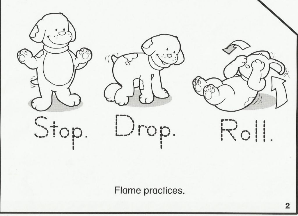 Fire Prevention Week Coloring Pages Fire Safety For Kids Fire Safety Crafts Fire Prevention Week