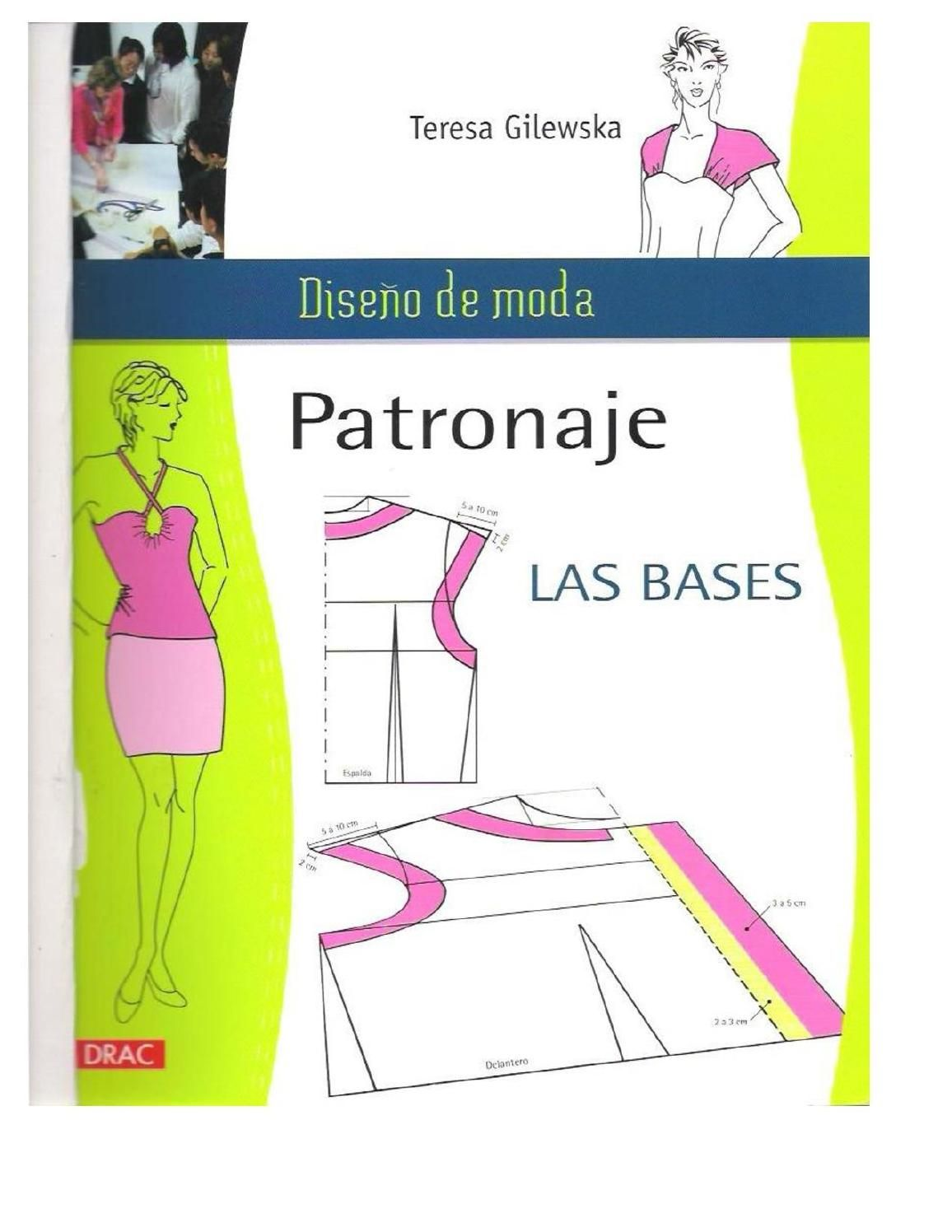 Patronaje la base by Disenadora AR - issuu   tutoriales   Pinterest ...