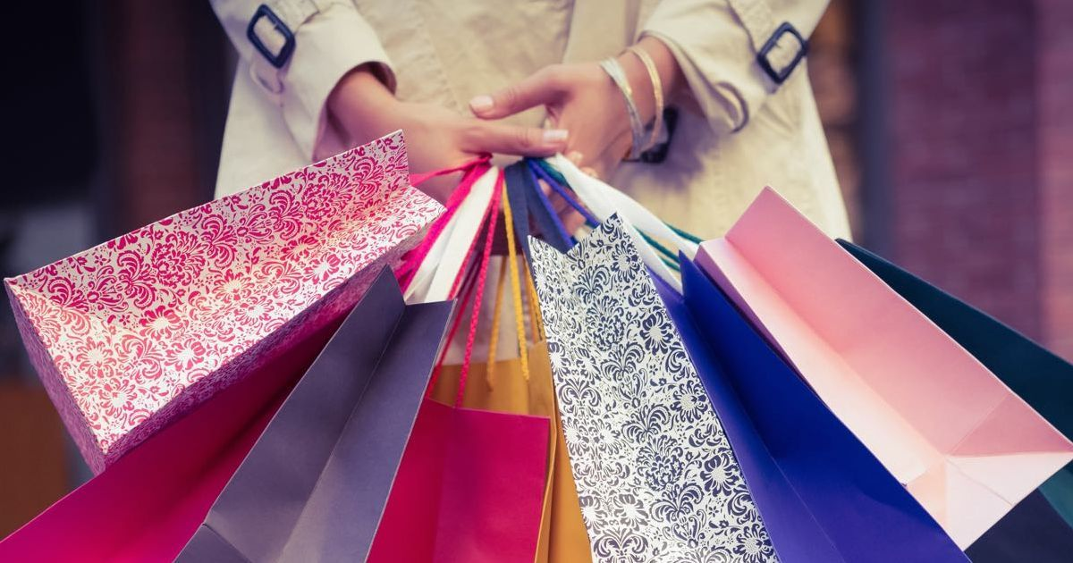 Go on a shopping spree and find out what kind of girl you