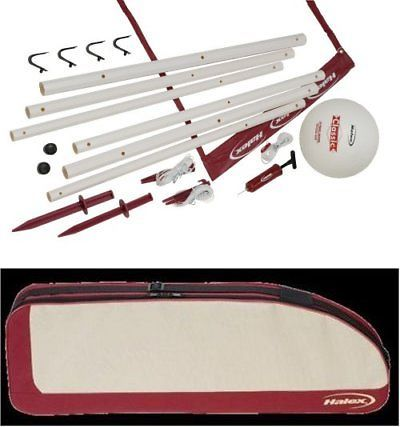 Nets 159131: Halex Classic Volleyball Set With Carry Bag -> BUY IT NOW ONLY: $31 on eBay!