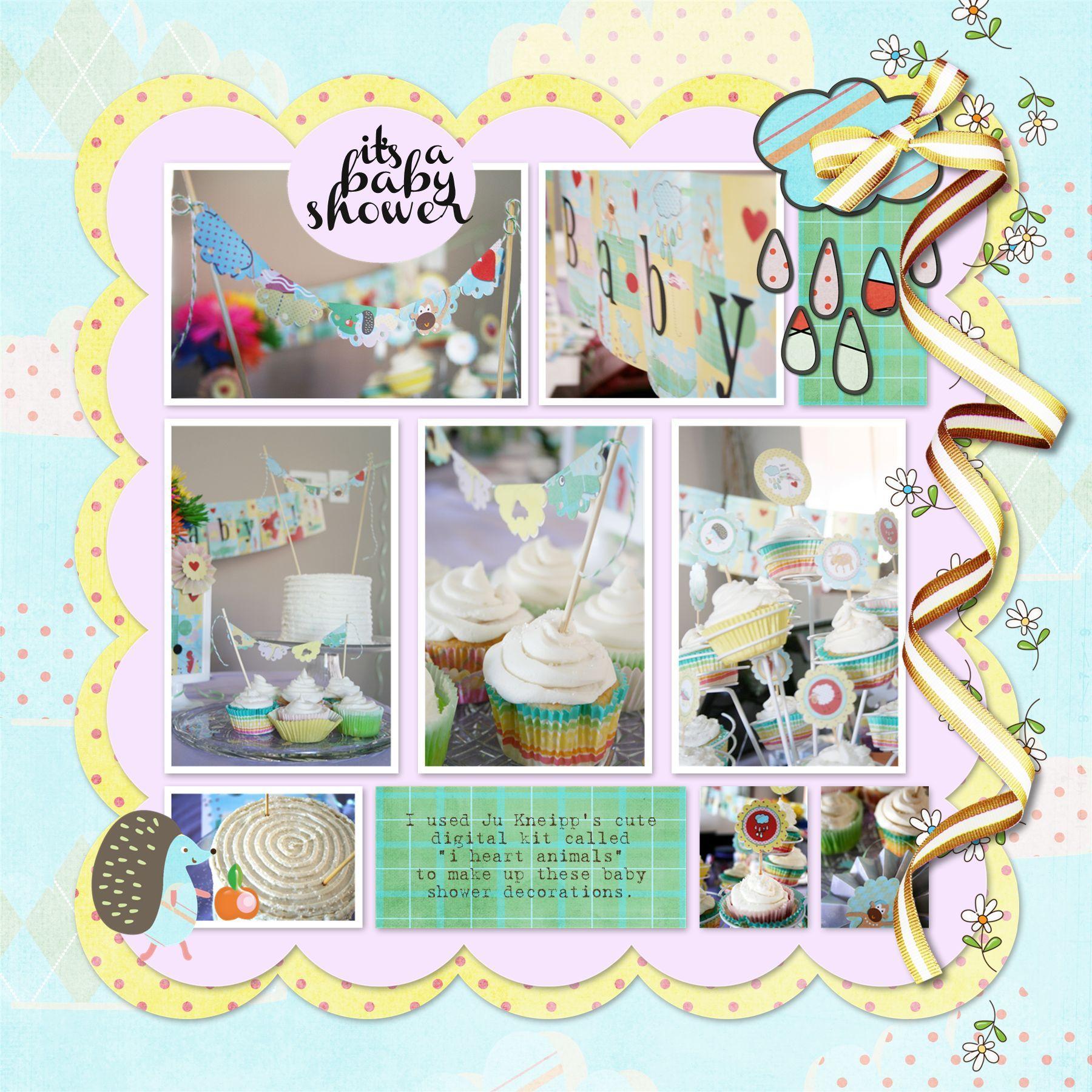 Baby Shower Scrapbook Layout Ideas Driveeapusedmotorhomefo