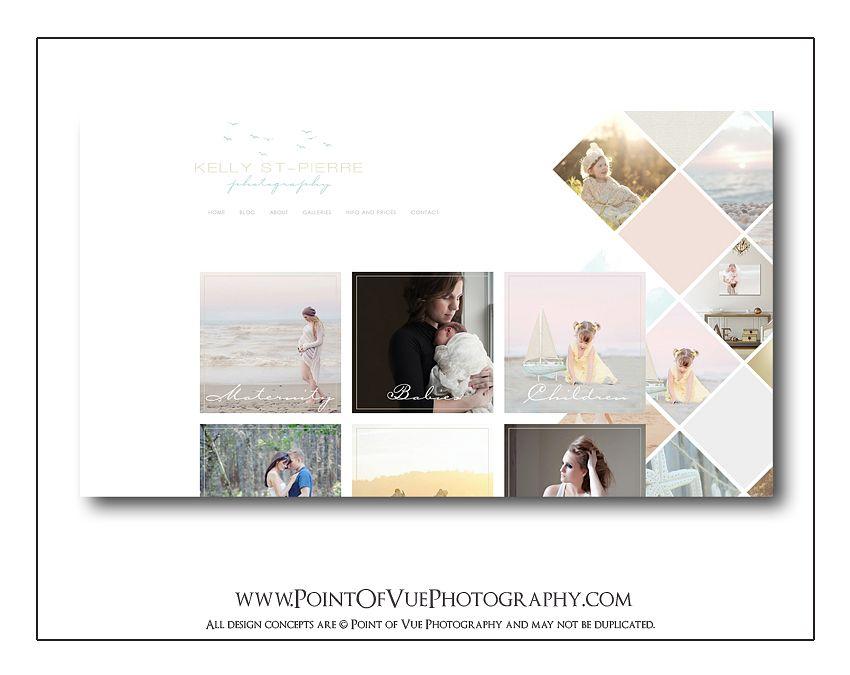 Kelly St-Pierre Photography - Custom Prophoto Blog Website ...