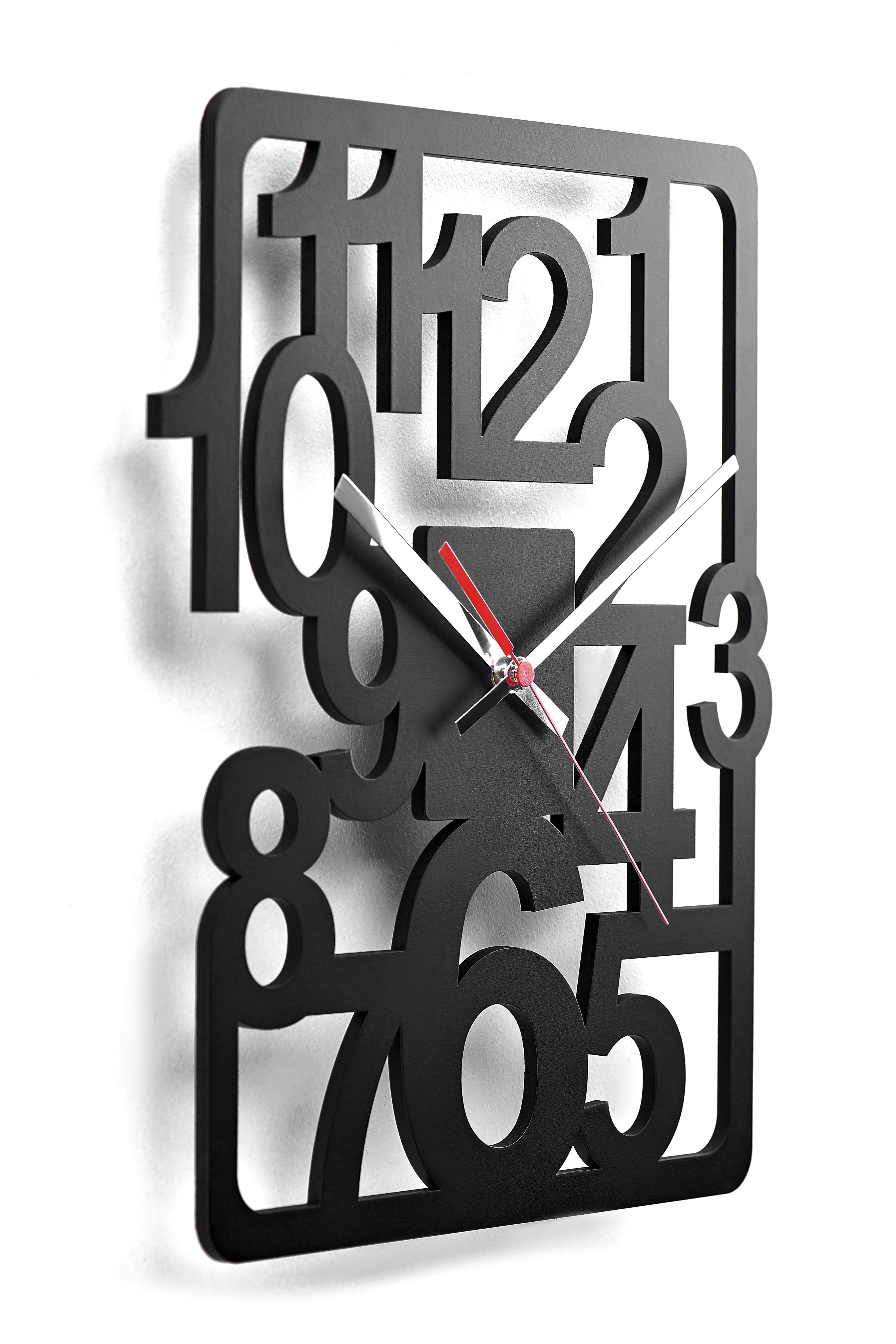 Clock Decor Office Unique Wall Wood Measures 14 96 X14 96 19 7 1496x1496 Clock Decor M In 2020 Wood Wall Clock Unique Office Decor Unique Wall Clocks