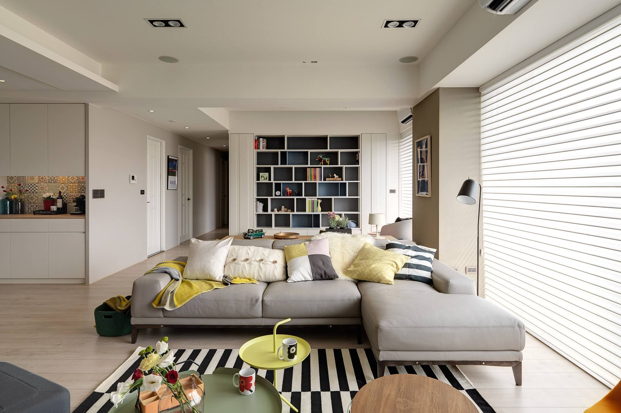nordic decor inspiration in two colorful homes | |rendering