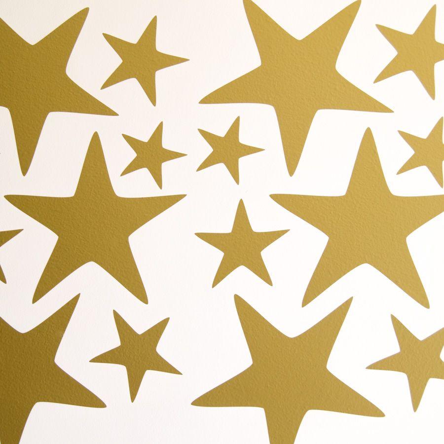 big star wall stickers add basket pack size white decals sticker ...
