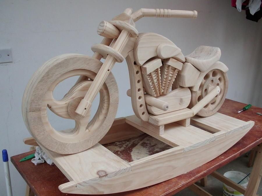 Rocking horse motorcycle plans modelli di motocicli for Woodworking plan for motorcycle rocker toy