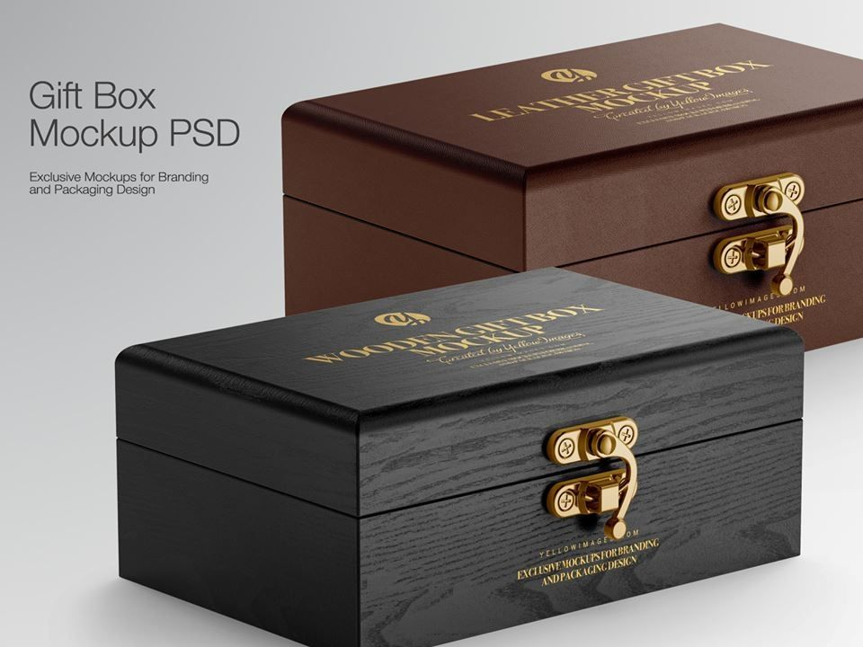 Download Gift Box Mockup Luxury Box Design Box Mockup Luxury Box Packaging