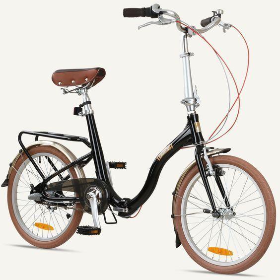 BARCELONA Citizen Bike 20 quot3Gang Faltkreuzer mit Alurahmen  3Geschwindig