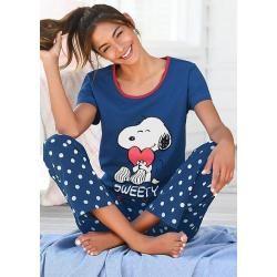 Pyjamas lang für Damen