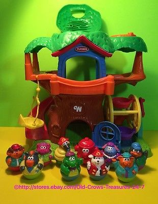 2004-Hasbro-PLAYSKOOL-Weebles-Musical-Sounds-Tree-House-10-Weebles