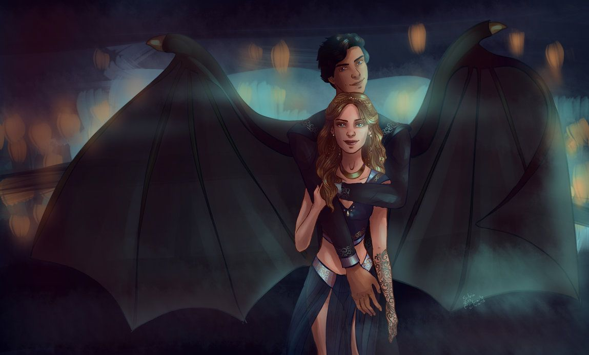 A Court Of Mist And Fury Fanart 2 By Silviarts With Images A