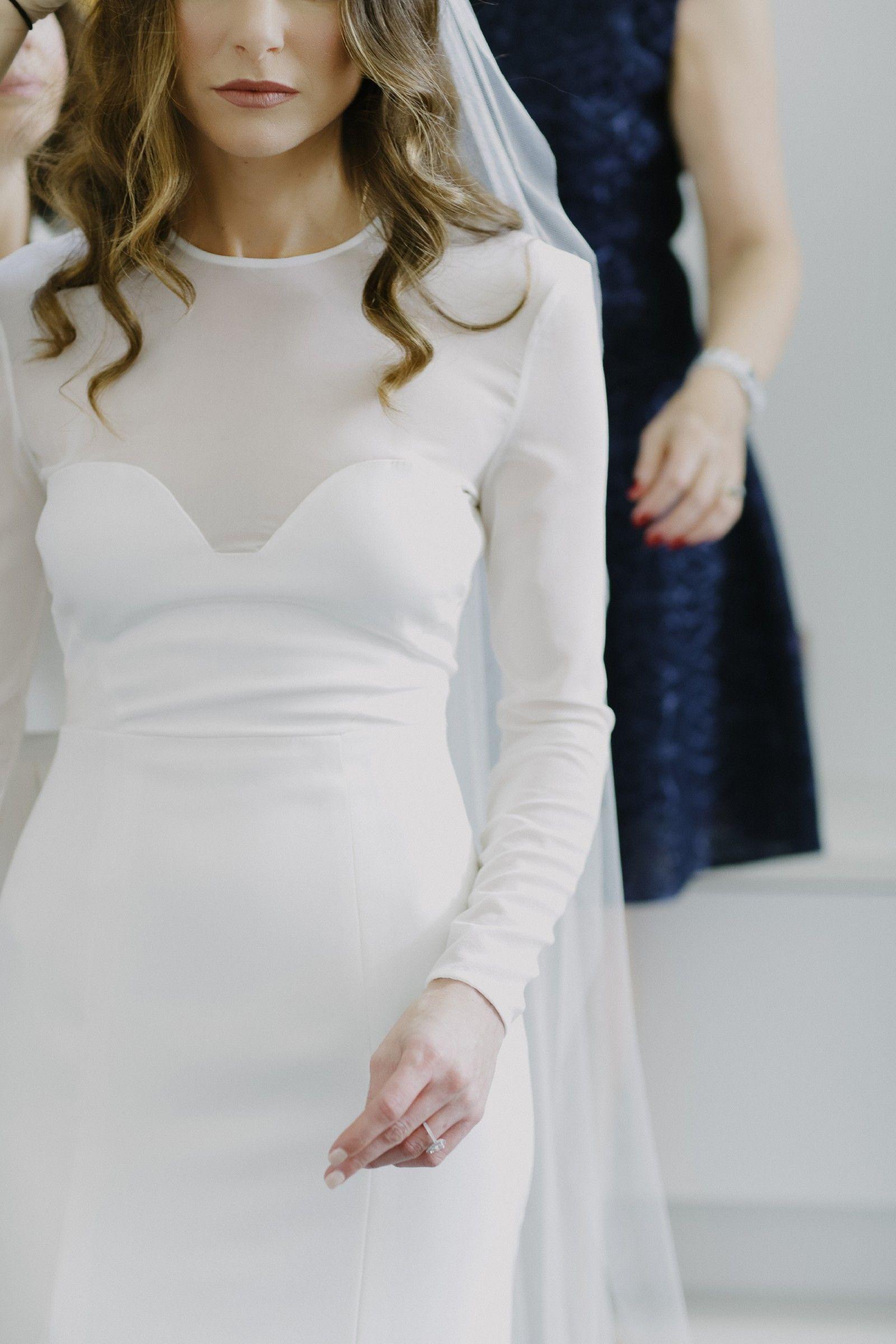 Casey Tanswell, Custom Design, Size 8 Wedding Dress | Custom ...