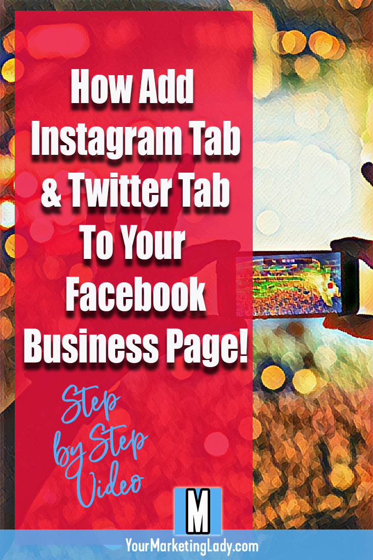 How to add instagram tab to your facebook business page and how to how to add instagram tab to your facebook business page and how to add twitter feed ccuart Gallery