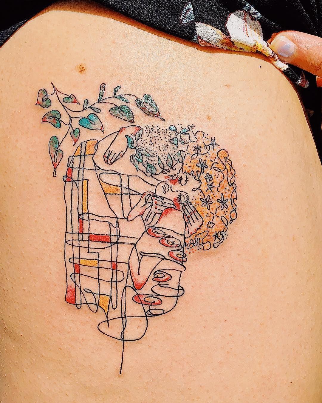 "mira mariah on Instagram: ""Natural hair on a Klimt"""