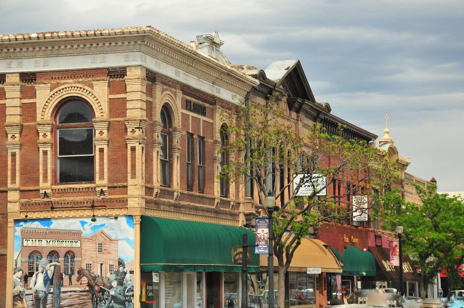 Downtown Canon City Colorado 1950s Postcard Canon City Colorado Pinterest Canon Cities And 1950s Canon City Colorado Canon City Scenic