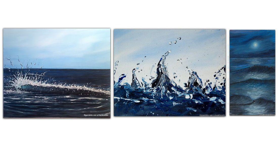 Moderne Meer Und Strand Wandbilder Acrylbilder Online Kaufen