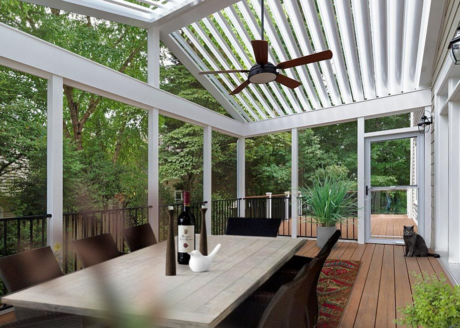 Adjustable Patio, Pergola, and Porch Roofs with Equinox