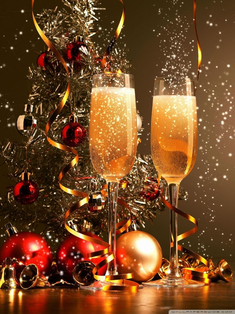 Happy New Year Cell Phone Wallpapers 240x400 Phone Hd