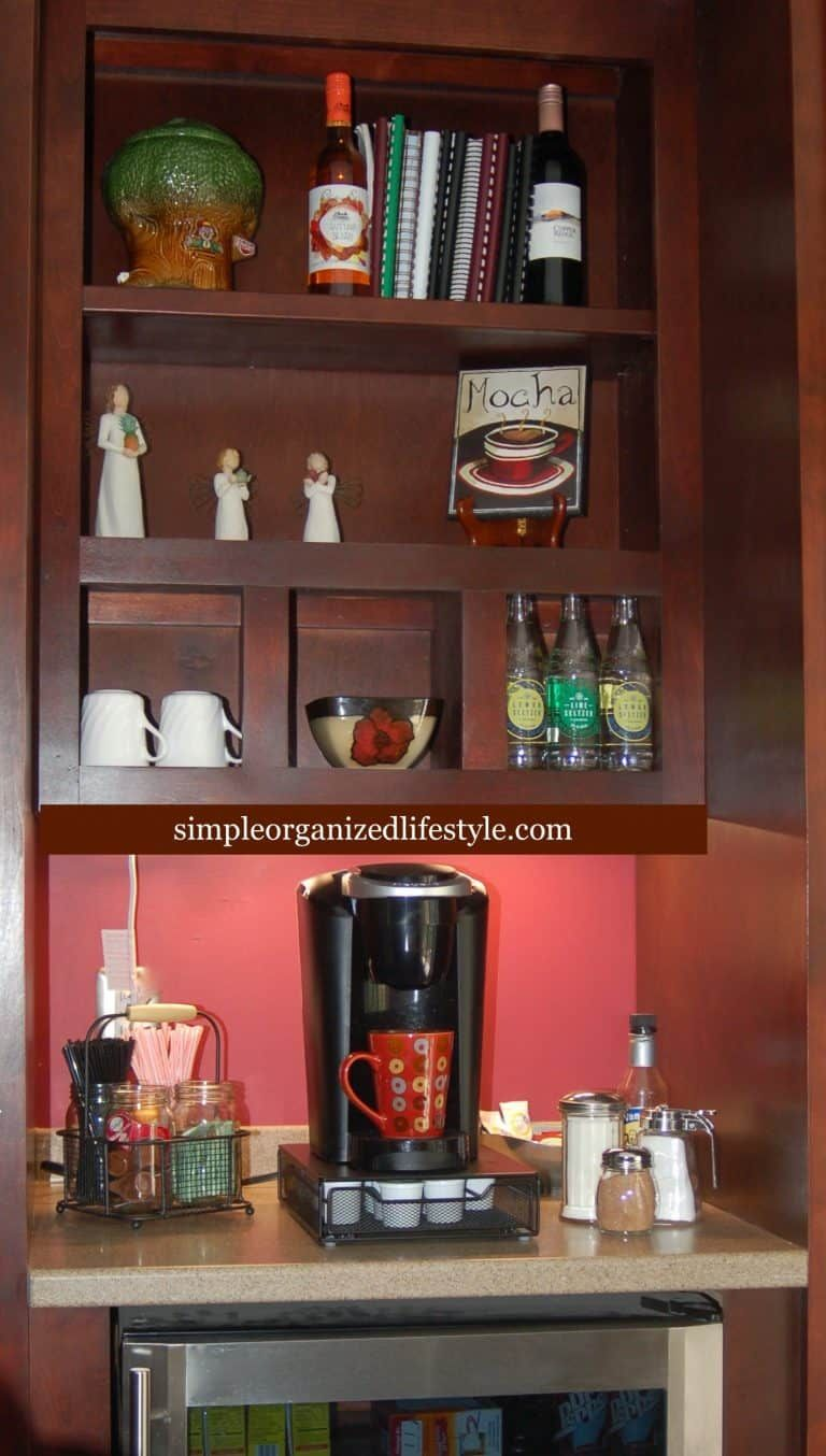 Kitchen Coffee Bar Cabinets | Coffee bars in kitchen ...