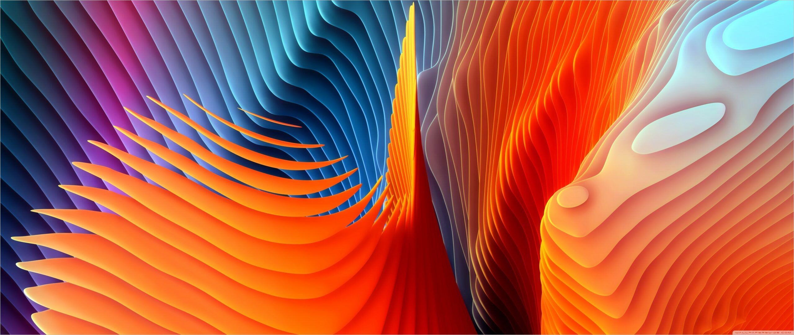 Abstract Waves Wallpaper 4k In 2020 Mac Os Wallpaper Os Wallpaper Abstract Wallpaper