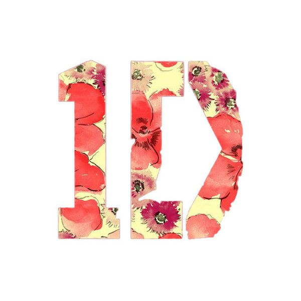 one direction logo tumblr found on polyvore