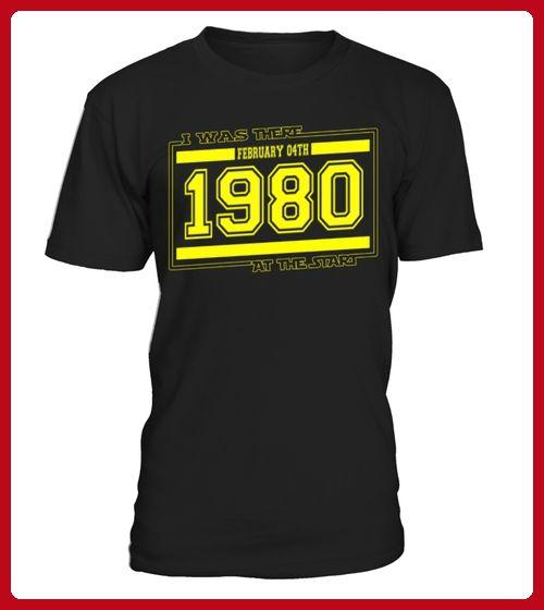 IwasthereFEBRUARY04TH1980 - Geburtstag shirts (*Partner-Link)