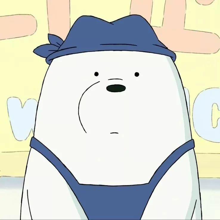 Ice Bear  live life  Pinterest  Bears, Bare bears and Cartoon